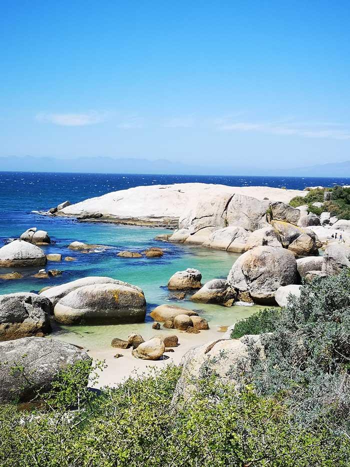 Foto: Sicht auf Kapstadts Boulders Beach