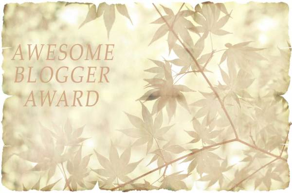 Foto: Awesome Blogger Award